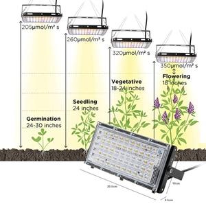 Image 5 - LED تنمو ضوء الطيف الكامل 800 واط مصباح فيتو للنباتات Fitolamp داخلي ضوء النبات الدفيئة نمو النبات مقاوم للماء Fitolampy
