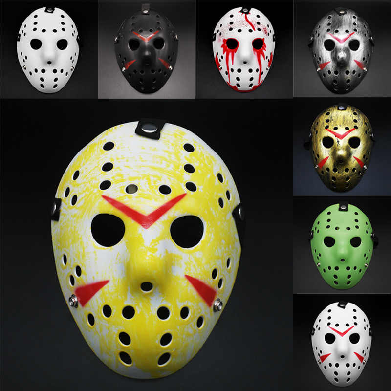Halloween Mask Horror Jason Masks Cosplay Dress Up Costume Party Holiday Supplies