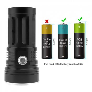 LED Flashlight Super Bright 3000 Lumens 3 x XM-L T6 LED Flashlight Powered by18650 White Light for Outdoor Camping Hiking Riding led flashlight torch 9000lm 15x xm l t6 led ipx6 5 light mode super bright flashlight 1200m lighting distance for camping hiking