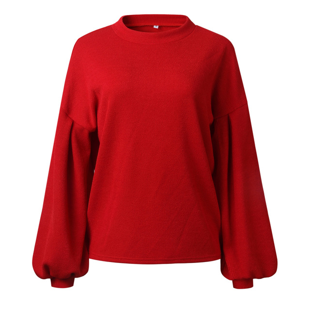 Women's Sweaters 2020 Autumn Basic Women Pullover Solid Casual Winter Warm Soft Jumper Tops O Neck Knitted Long Sleeve Sweater 5