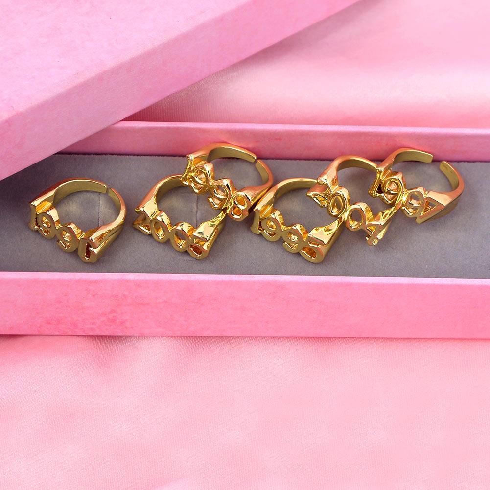 Женские кольца золотого цвета just feel 1991 2005 регулируемые
