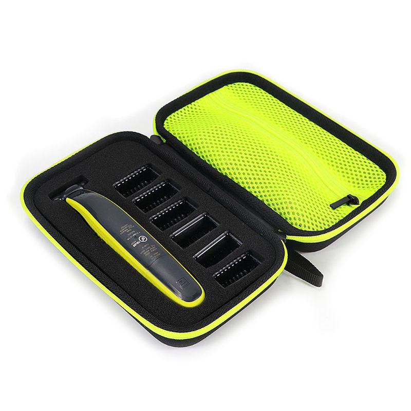 1pcs Electric Shaver Razor Box EVA Hard Case Trimmer Shaver Pouch Travel Organizer Carrying Bag For Philips Norelco One Blade QP