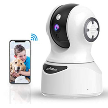 Flylinktech 1080P HD IP Camera 2-Way Audio Night Vision Motion Detection CCTV WiFi ip Cameras Indoor Home Security Baby Monitor