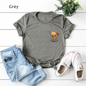 2019 Women Summer Tshirt Cute