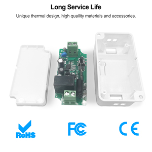 Image 5 - Wifi RF Smart DIY Light Switch Tuya Smart Life App Voice Timing Remote Control Smart Home Automation Module Wokrs With Alexa
