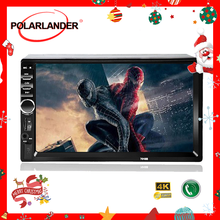 """7"""" inch 2 Din Mirror Link Auto-radio Support Bluetooth Stereo FM TF USB Universal Car Radio MP5 MP4 Player HD Touch Screen(China)"""