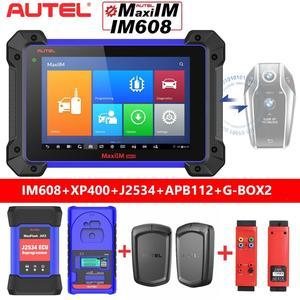 Image 1 - 2021 Autel IM608 IMMO XP400 키 프로그래머 및 J2534,30 + 서비스 및 모든 시스템 진단이있는 전문 키 프로그래밍 도구