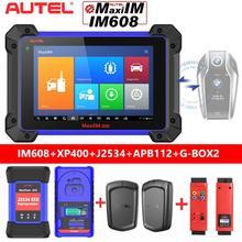 2021 Autel IM608 OBD2 Diagnostic Tool IMMO Key Programmer ECU Coding APB112+G BOX2