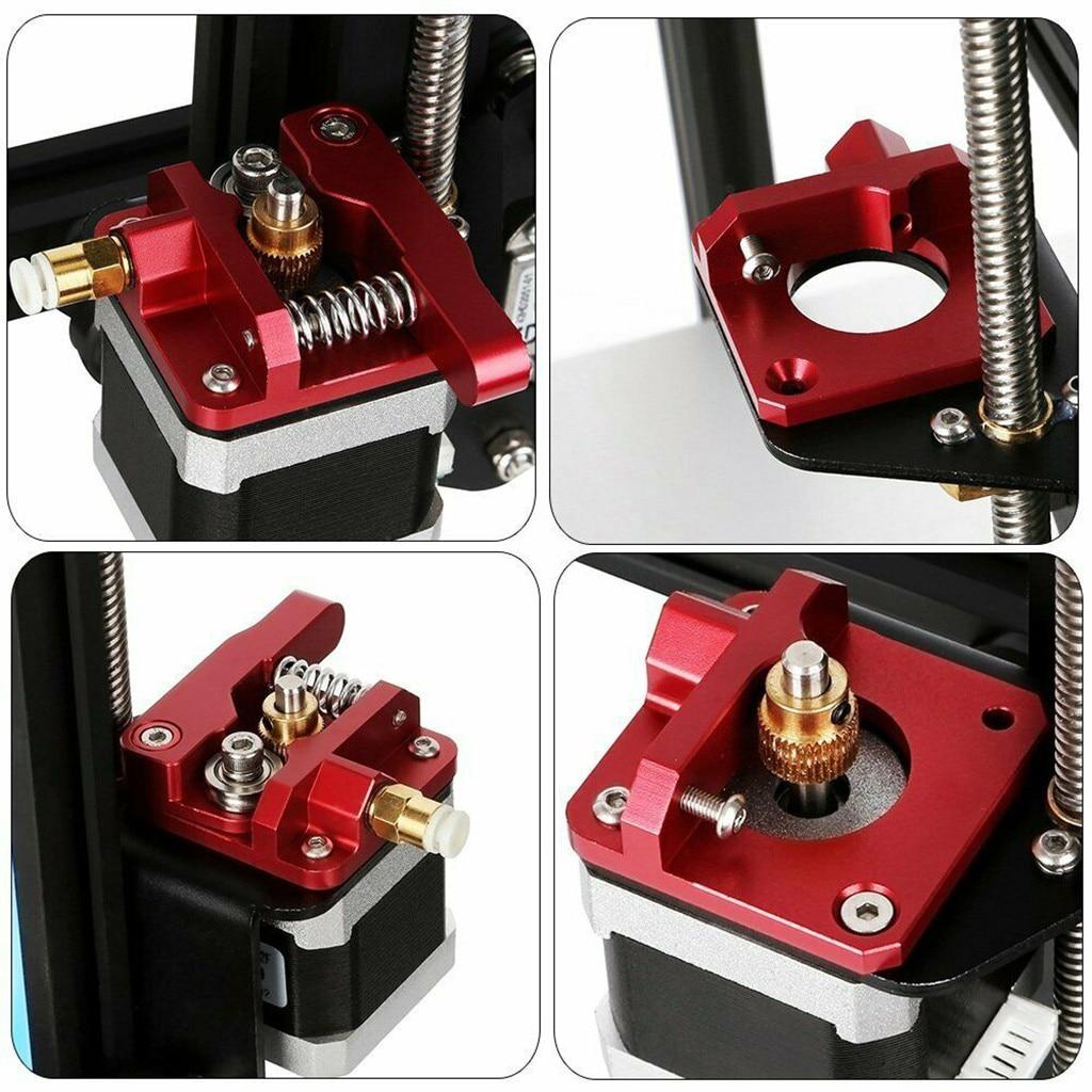 Aluminum Frame MK8 Extruder Upgrade Kit For Creality 3D Printer CR-10//10S Series