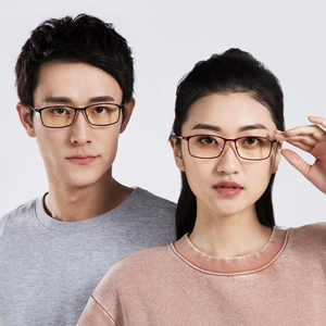 Image 3 - Newest Xiaomi Mijia Anti blue rays Glasses TR90 Metal Plastic Mixed Material Eye Protector For Man Woman xiaomi goggles