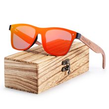 BARCUR Black Walnut Sunglasses Men Polarized UV400 Protection Sun Glasses Women Eyewear недорого