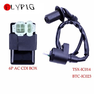 Image 2 - Ignition Coil 6Pin AC CDI Box for Honda XR CRF TRX 50 70 125 250 300cc Engine Motorcycle Dirt Bike ATV Moped Scooter Go Kart @20