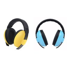 Baby Kids Anti noise Earmuffs Headset Hearing Protection Ear Defenders Sleeping Headphone Protect Noice Cancel FD