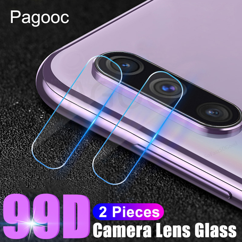 99D Lens Tempered Glass On The For Samsung Galaxy A10 A20 A30 A40 A50 A60 A70 A80 A90 A20E A40S Camera Protector Protective Film