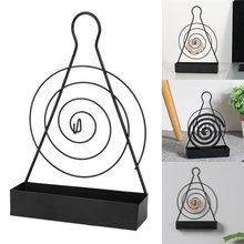 Spiraal Mosquito Coil Houder Ijzer Mosquito Coil Frame Muggenspray Wierook Rack Thuis Decoractive Houder(China)