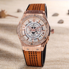 HUBLOT Luxury Brand quartz Mens Watches Quartz Watch Stainle