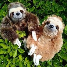 Высококачественная домашняя коллекция плюшевые ленивецы 30 см