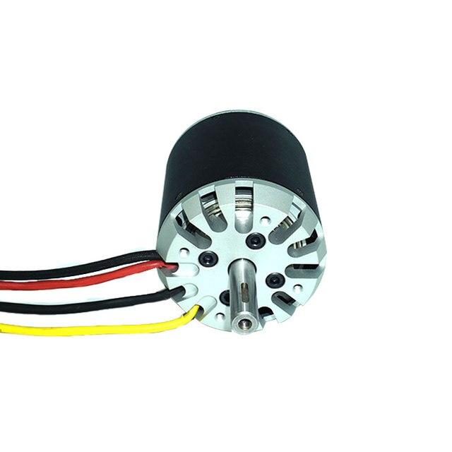 Motor de CC sin escobillas Flipsky 80100 130KV 7000W para bicicleta eléctrica, monopatín eléctrico, carrito Go