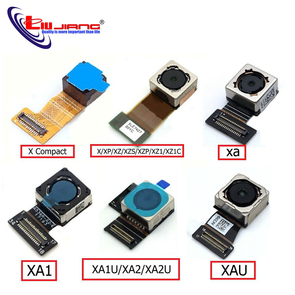Front Camera Module For Sony Xperia X X Performance X Compact XA XZ XA1 XA1U XA2U XA2 XA Ultra Small Flex Cable Facing Camera