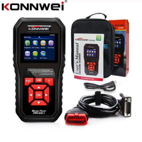 KW850 OBD 2 Auto Scanner OBD2 Auto Diagnostic Scanner Full ODB2 Scanner Supports Multi-languages Check Engine Car Code Reader