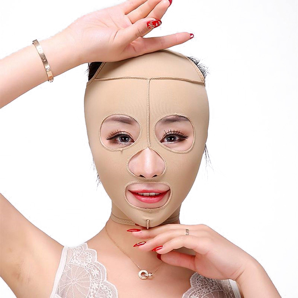 Face Wrinkles Double Chin Face Beauty Tool Facial Thin Face Mask Slimming Bandage Skin Care Facial Mask Remove Lift-up V Shaper