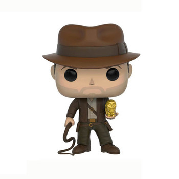 FUNKO POP Indiana Jones Action Figure Toys Raiders of the Lost Ark Movie Characters Vinyl Dolls Decoration Models for Kids Gifts 4