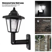 Solar Led Light Outdoor Deck Hexagon Wall Light Solar Lamp Garden Lantern Wall Landscape Mount Porch Lights Retro Industrial G3(China)