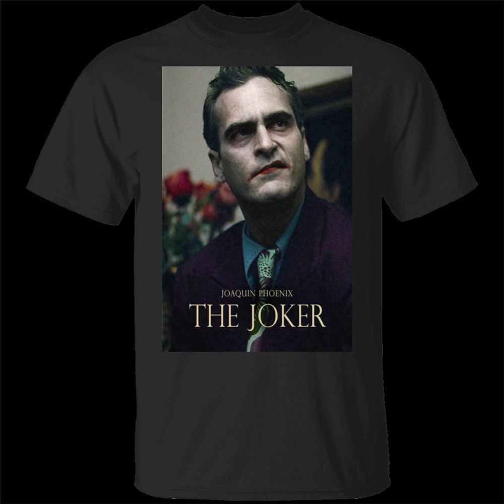 Hot JOKER (2020) Joaquin Phoenix ภาพยนตร์ทีวีสีดำเสื้อยืด M-XXXL 2 Harajuku Hip Hop TEE เสื้อ