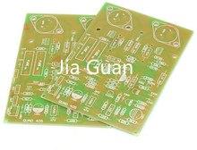 2Pcs QUAD405 Goud Afgesloten Eindversterker Pcb Amp Versterker Pcb Leeg Bord Om 3 Darlington Bipolaire Audio Power transistor