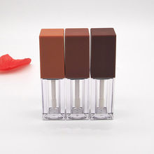 High-grade New Empty Lip Gloss Tubes Cream Containers Jars DIY Makeup Tools Cosmetic Transparent Lip Balm Refillable Bottle(China)