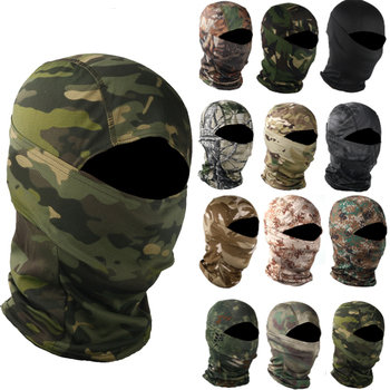 Military Camouflage Balaclava Outdoor Motorcycle Cycling Fishing Hunting Hood Protection Army Tactical Head Face Cover