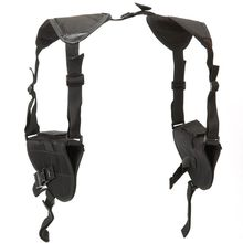 Portable Sports Left Right Hand Tactics Double Shoulder Holster Bag Airsoft Part Y1QE