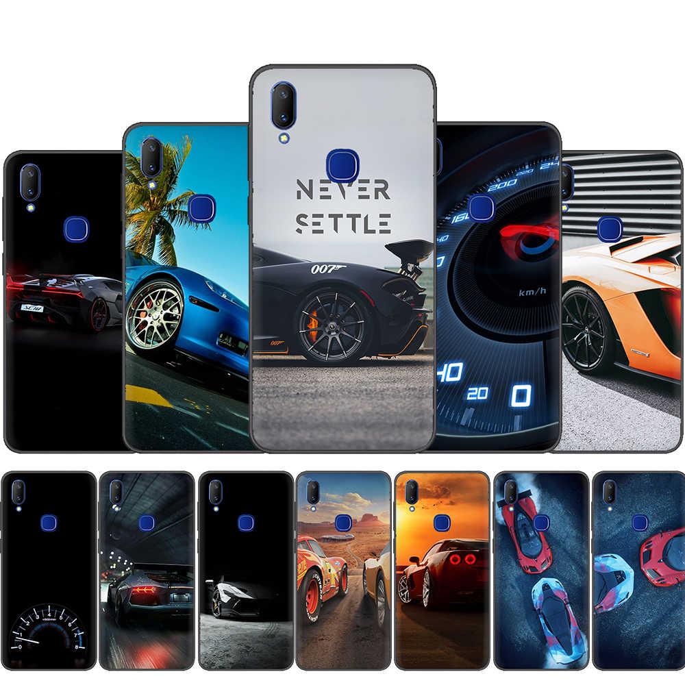 Samochód sportowy wysokiej jakości telefon etui na VIVO Y81 V5 V7 V9 V11 V15 Pro Y17 Y69 Y71 Y91 Y93 Y66 X9 Y11 U3 Y5S