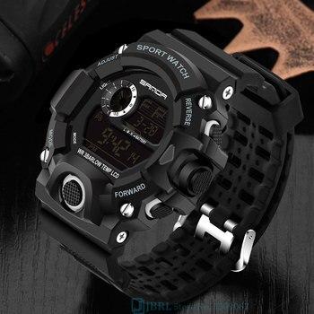 Waterproof Digital Watch Men Sport Watches Electronic LED Male Wrist Watch For Men Clock Famous Brand Military Army Wristwatch