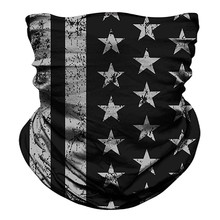 Flaga narodowa szalik dla kobiet nakrycia głowy chustka Sport Tube Uv twarz trening piesze wycieczki odkryty pałąk Camo kominiarka szaliki tanie tanio Dla dorosłych Poliester CN (pochodzenie) Pierścień Drukuj Moda 60 cm women men scarf