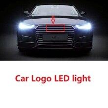 Au 4D Vorne Hinten Automobil LED Emblem Licht Fit Für Auto Abzeichen Logo Tageslicht Birne Marker DRL RS 4 5 di