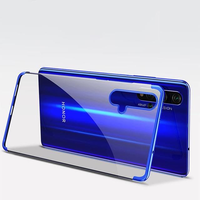 Electroplate TPU Soft Case For Huawei Honor 20 Pro 9X Nova 5 Pro 5i P20 Lite