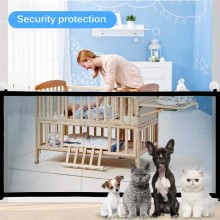 Pet-Separation-Supplies Fences Mesh Playpen Rails Door-Gate Safety Folding Infant-Care