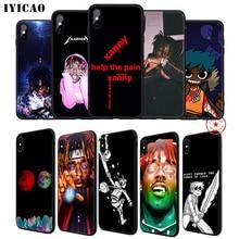 IYICAO Lil Uzi Vert LUZ Rapper Soft Phone Case for iPhone 11 Pro XR X XS Max 6 6S 7 8 Plus 5 5S SE Silicone TPU