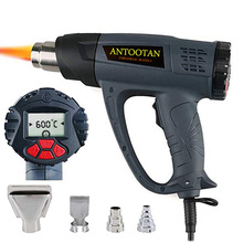 Heat Gun Hot Air Blower Tablet Heat Gun Met Lcd Display 2000W Draadloze Heat Gun Wind Controle Geheugenfunctie hot Air Gun Kits