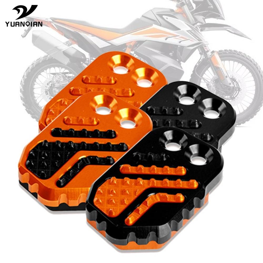 Motorcycle Rear Foot Brake Lever Pedal Enlarge Extension Rear Brake Peg Pad For KTM 790 ADV 790 Adventure S/R 2018-2020 2019