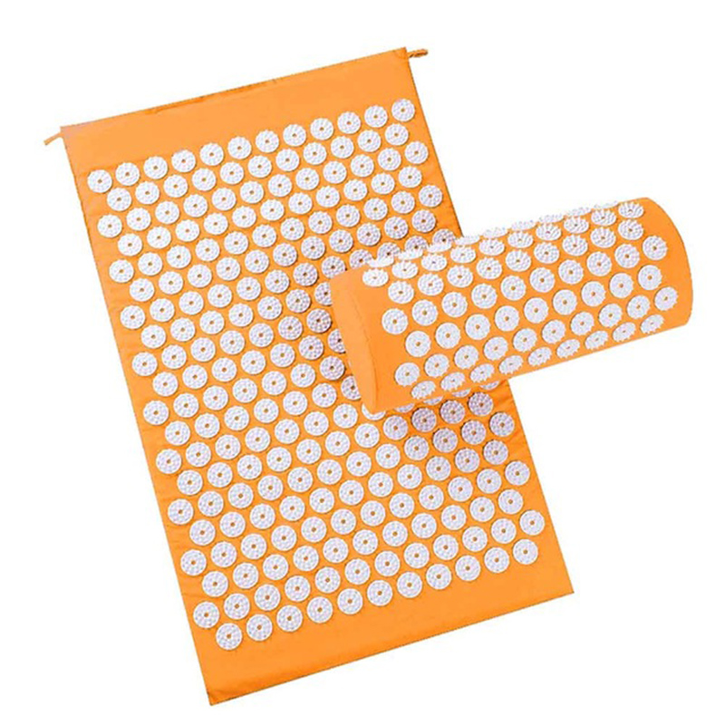 Body Relaxing Acupressure Massage Mat with Pillow for Neck and Back pain 16