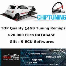Os 14gb superiores que ajustam arquivos do remap checksum ok para caminhões dos carros modificaram os mapas de ajuste da microplaqueta do ecu trabalham para o programador do ecu de kess/ktag/fgtech