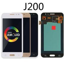 Original AMOLED J200 LCD For Samsung Galaxy J2 2015 J200 Display J200F J200H J200Y LCD Display Touch Screen Digitizer Assembly replacement lcd display with touch screen digitizer assembly for samsung galaxy j2 asm j200f j200h j200m j200y j200g