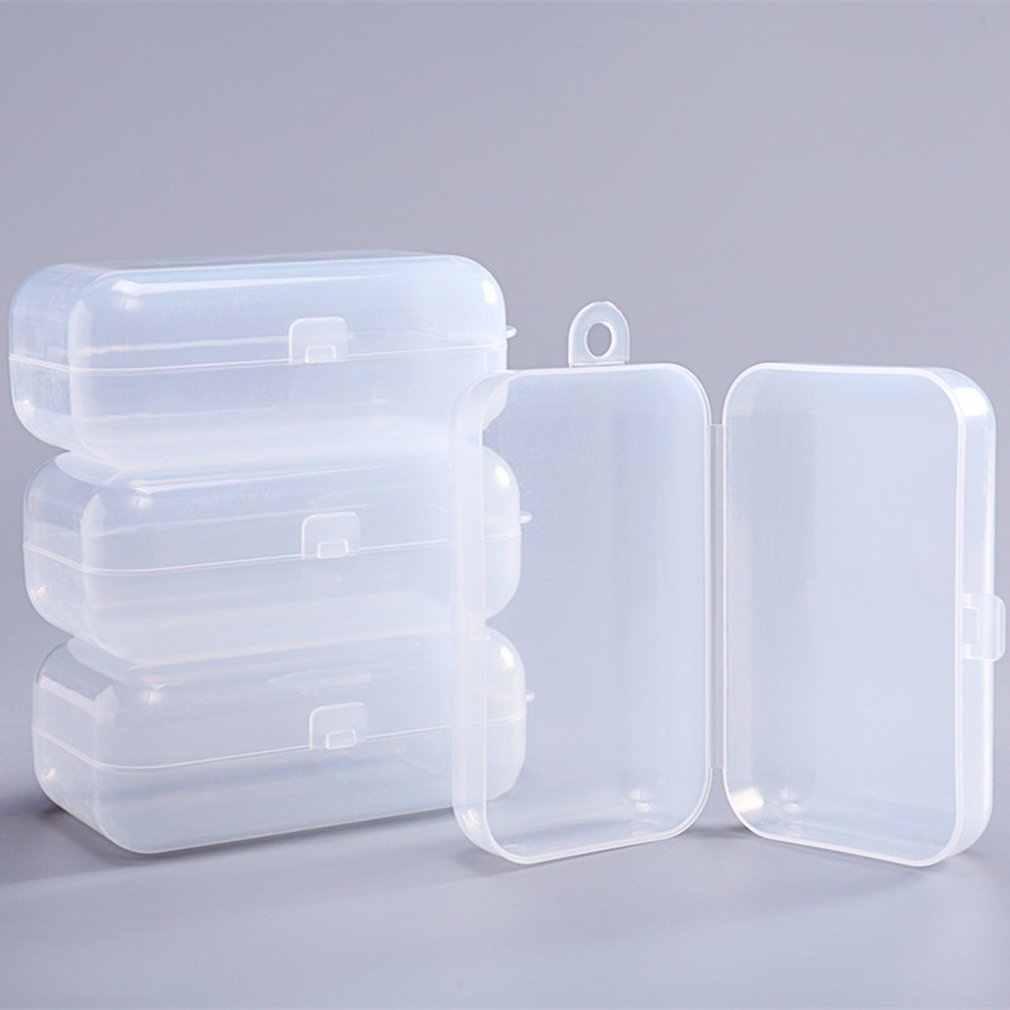 1 pçs pp bebê mordedor caixa natureza infantil dentição transparente armazenamento agarrando mastigar brinquedo diy seguro dentição acessórios carry box