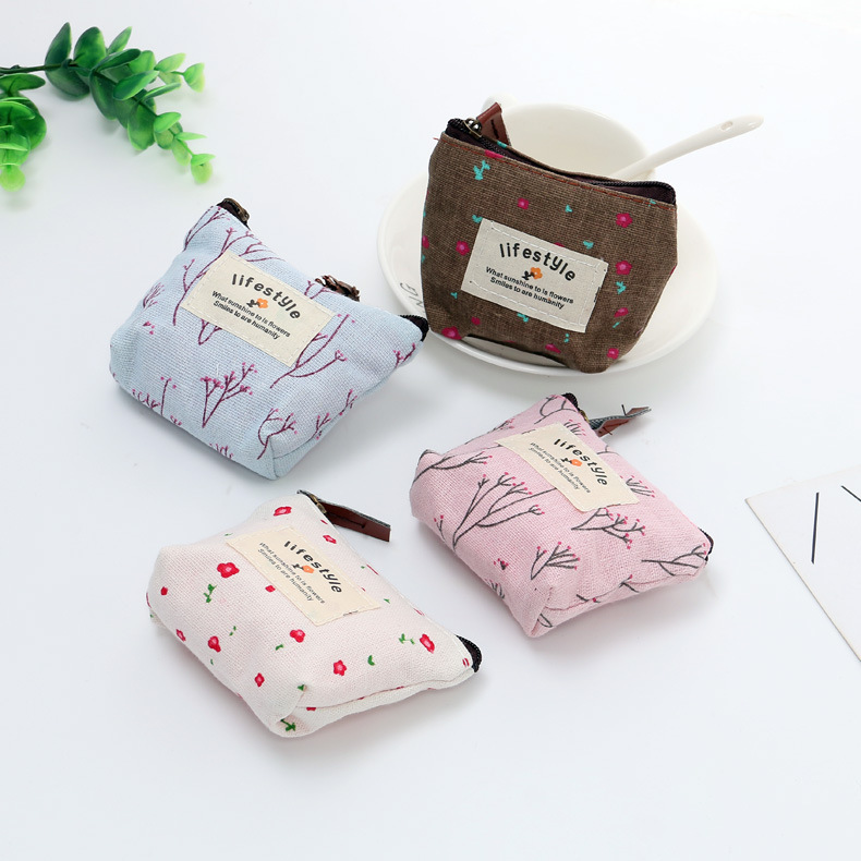 2019 New Style Cute Students Korean-style Purse Women's Short Wallet Mini Hipster South Korea Coin Bag