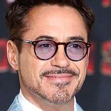 Солнцезащитные очки Роберт Дауни ацетатные ретро классические