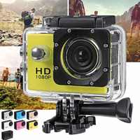 4K 1080P 2,0 ''Kamera Recorder LCD Bildschirm Wasserdichte Outdoor Skifahren Fahren Sport DV Camcorder Multifunktionale