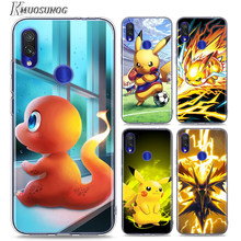Soft TPU for Redmi 8 8A Cover Pokemons Pikachu for Xiaomi Redmi Note 8 7 6 5 4X 4 7A 6A 6 S2 5A Plus Phone Case(China)