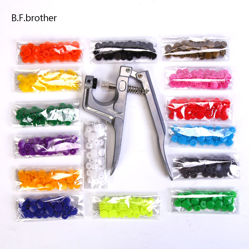B.F.brother Metal Buttons Decorative Botones Button Snap Press For Buttons For Clothes Botones A Presion Metal Snap Fastener